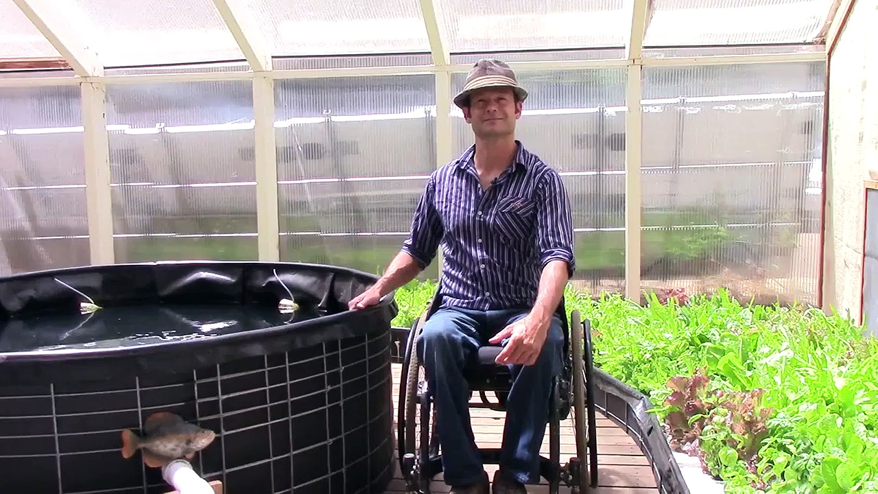 Aquaponics Video Series Trailer 2 – World's 1st Aquaponics Spiral Garden