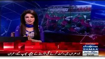 Media reporters want to talk with Reham Khan's Daughter but Reham's Guards push them back