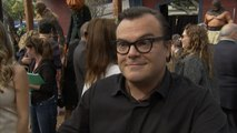 Jack Black Is Hilarious And In Character At 'Goosebumps' Premiere