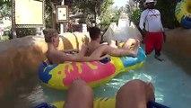 Amazing Flood Water Slide at Wild Wadi Water Park