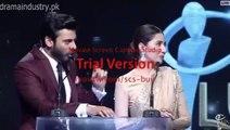 Fawad Khan Teasing Meera In Lux Style Awards 2015