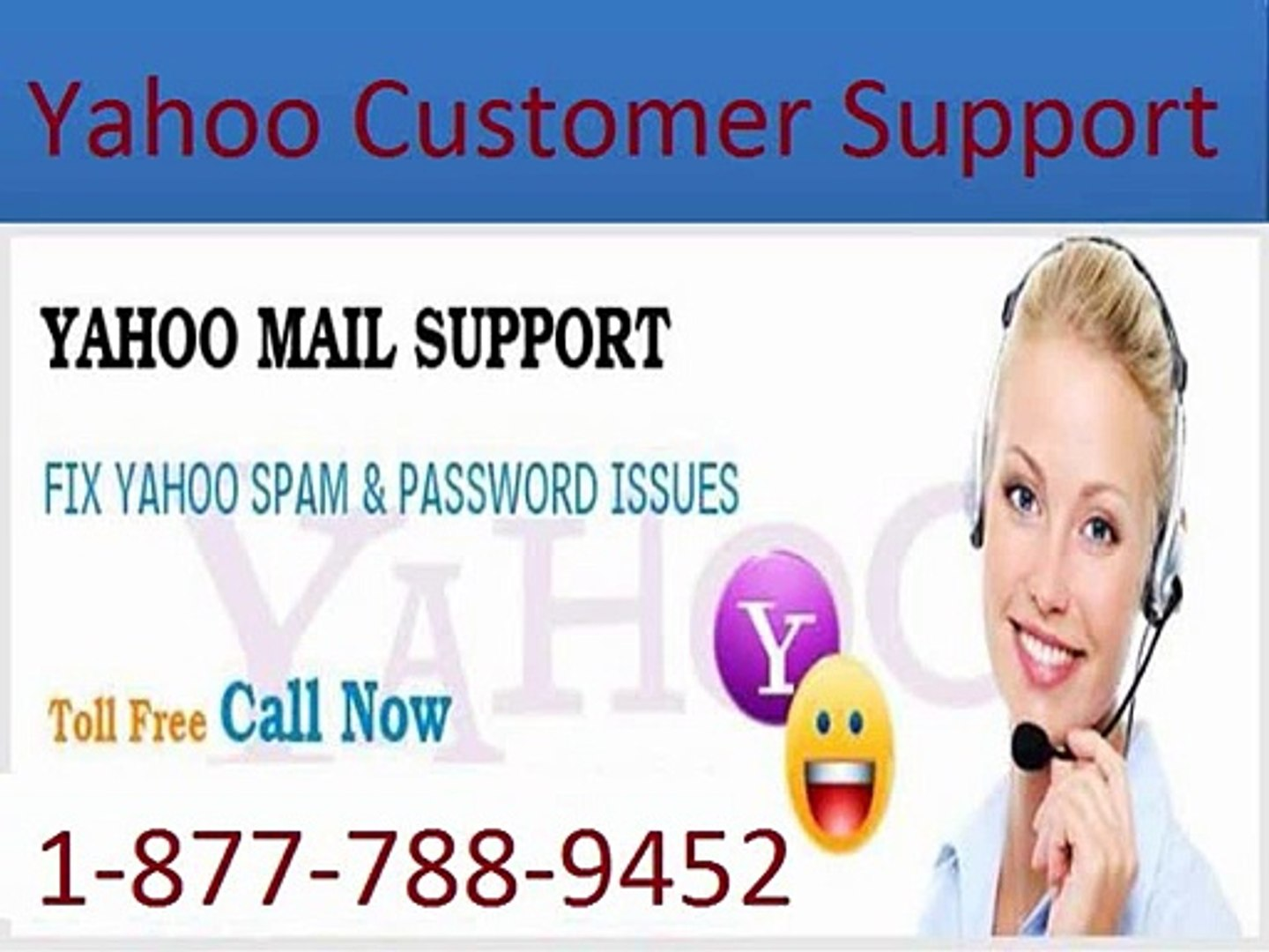 Call Yahoo Customer Support 1-877-788-9452 Toll Free for Yahoo Support