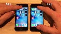 iOS 9.0.2 vs iOS 9.0.1