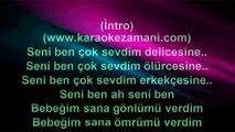 İbrahim Tatlıses - Bebeğim - 2001 TÜRKÇE KARAOKE