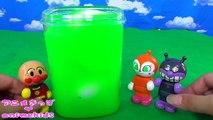 アンパンマン おもちゃ アニメ スライム の中に たまご 発見!! animekids アニメきっず animation Anpanman Toy Egg