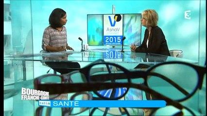 9329e3e5e5 Journées de la vision avec Lydie Bard responsable des opticiens mutualistes  à la Mutualité Français sur Orange Vidéos