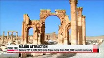 Islamic State destroys ancient arch in Palmyra