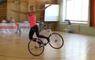 Girl Performs Impressive Bike Tricks | Balancing Act