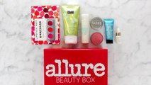 Inside the Allure Beauty Box - First Look Inside the October 2015 Allure Beauty Box