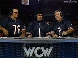 Sting promises to Solve Macho Man & Lex Luger problem @ WCW Monday Nitro 09.10.1995