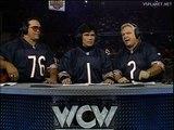 Sting promises to Solve Macho Man & Lex Luger problem @ WCW Monday Nitro 09.10.1995