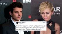 John Mayer Goes Fan Crazy Over Miley Cyrus' New Album