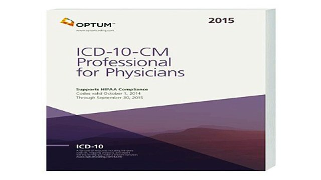 ICD-10-CM Professional for Physicians Draft -- 2015 (Icd-10-Cm  Free Download Book