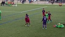 Le superbe but des jeunes du FC Barcelone