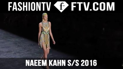 The Best of Naeem Khan at New York Fashion Week! | FTV.com