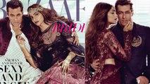 Salman Khan & Sonam Kapoor SEXY & HOT Photoshoot | Harper's Bazaar Magazine