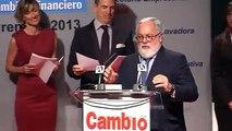 El ministro de Agricultura_ Arias Cañete_ galardonado en los Premios Cambio16 Jorge Neri Bonilla