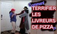 Caméra cachée: Il Terrifie les Livreurs de Pizza avec une blague Hilarante !