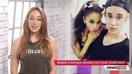 Justin Bieber & Ariana Grande Headed On Tour Together!