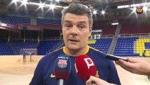 [CAT] FCB Handbol: Xavi Pascual, prèvia Go Fit Sinfín-FC Barcelona Lassa