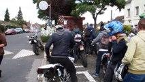 Etaples : l'hommage des motards à Benjamin Gosselin