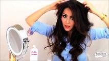 HAIRSTYLES FOR MEDIUM LONG HAIR★ CUTE BRIGITTE BARDOT HAIR TUTORIAL - EVERYDAY HALF-UP HALF-DOWN