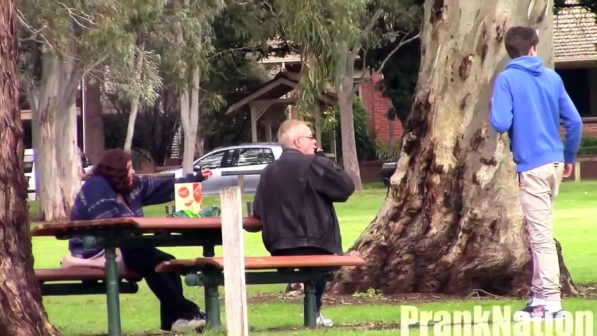 Scary Prank Slashed Face Prank Funny Pranks Pranks on People Best Pranks 2014