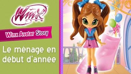 Winx Avatar Histoire 3 - Le ménage en début d'année