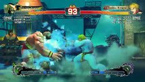 Ultra Street Fighter IV battle: Zangief vs Ken
