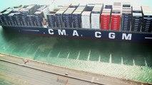 Porte-conteneurs. Un géant des mers inauguré au Havre