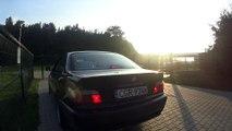 BMW E36 328i stock exhaust sound