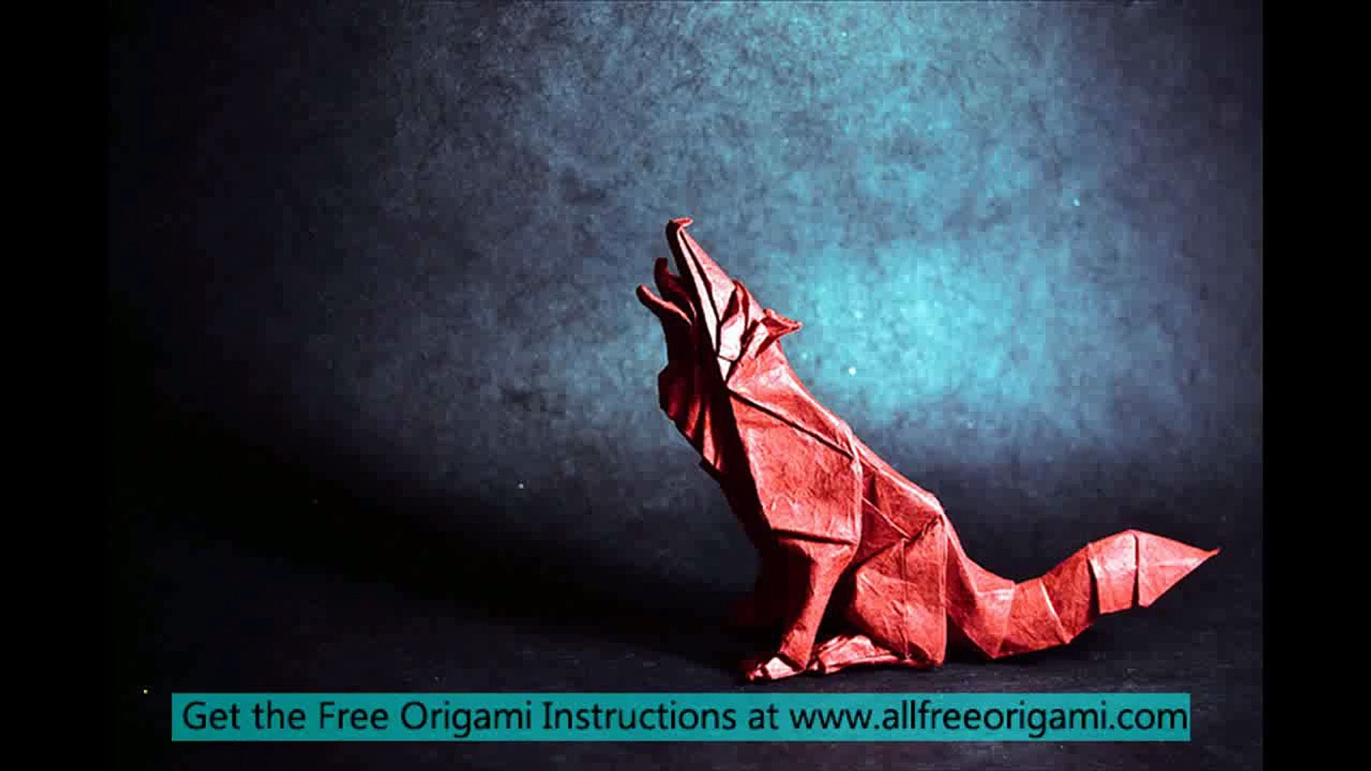 Origami Wolf Instruction with Video | 1080x1920