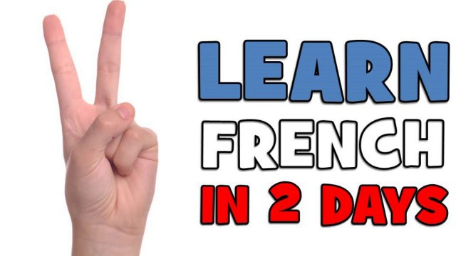 LEARN FRENCH IN 2 DAYS # DAY 1