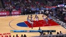DeAndre Jordan Alley Oop Dunk _ Nuggets vs Clippers _ October 2, 2015 _ 2015 NBA Preseason