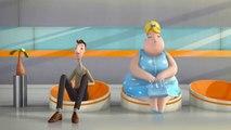 Phim hoạt hình 3D cực hay và ý nghĩa - Vợ và chân dài !