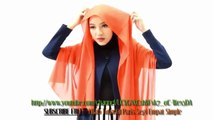 Hijab Tutorial Paris Segi Empat Simple untuk Kuliah - Trend Hijab Masa Kini 2015