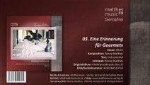 Eine Erinnerung für Gourmets - Gemafreie Barmusik (03/12) - CD: Hintergrundmusik zur Beschallung (Vol. 2)