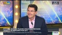 Bouygues Telecom prévoit une croissance de 10% de son chiffre d'affaires en 2017: Olivier Roussat – 07/10