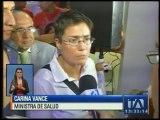 La Ministra de Salud se refirió a la construcción del Hospital General de Latacunga