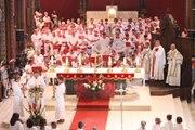 La messe des bandas aux Fêtes de Bayonne