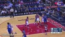 Les highlights complets des débuts de Jahlil Okafor en pré-saison face aux Wizards (6/10/2015) - 12 Pts.