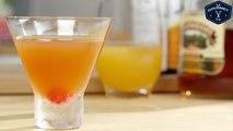 Rum Manhattan Cocktail Recipe - Le Gourmet TV