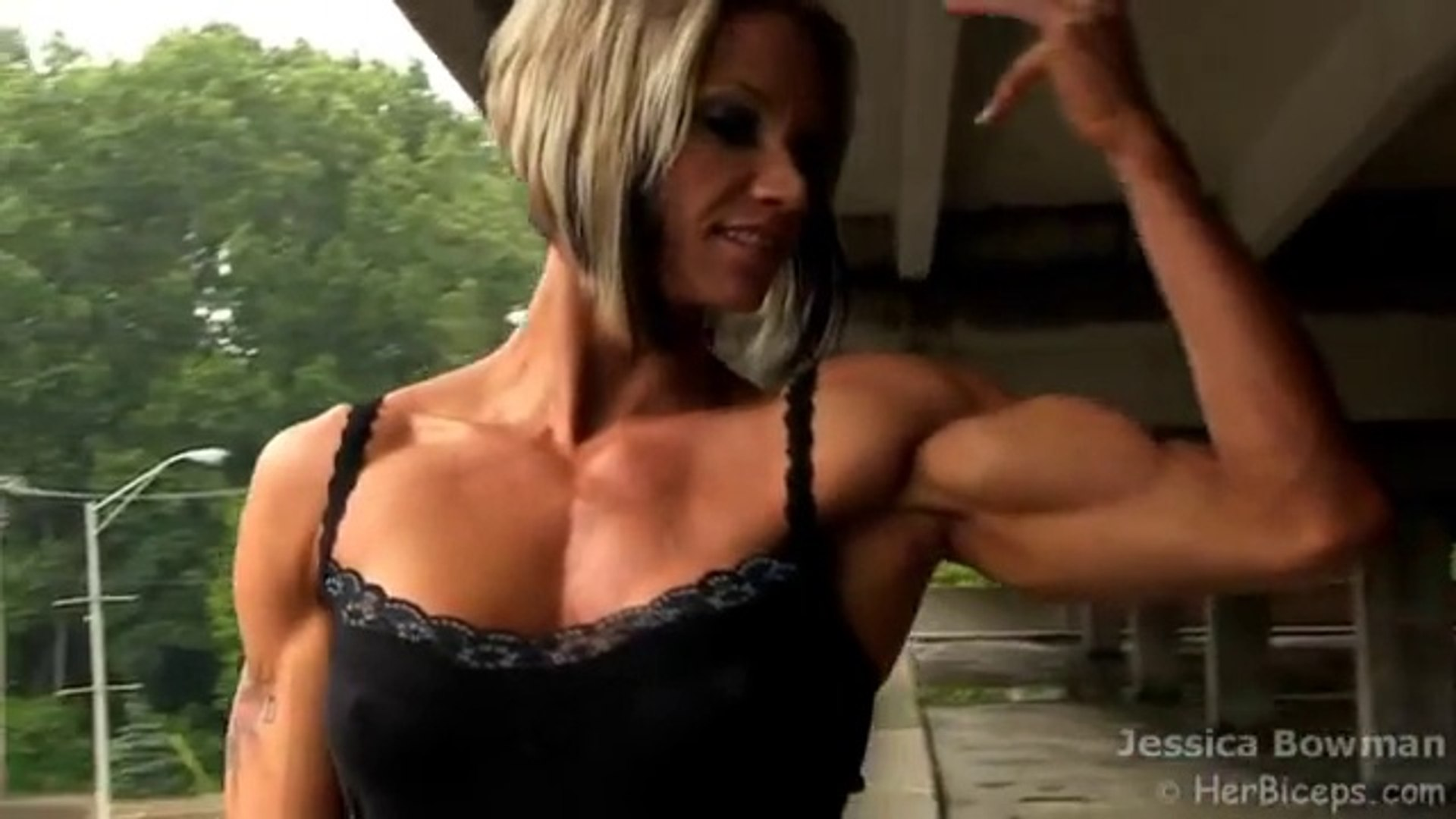 Muscled Teen Show