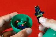 superheroes toys spiderman hulk wolverine captain america batman toys surprise eggs игрушки marvel 蝙蝠俠  باتمان  Человек-паук