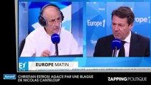 Christian Estrosi agacé par une blague de Nicolas Canteloup sur les inondations en Côte d'azur et Nadine Morano