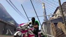 GTA 5 + ZUERA + alguns Parkour de MOTO