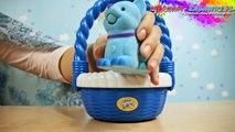 Sweet Talkin' Puppy In Basket / Mówiąco-Szczekający Piesek w Koszyczku - Little Live Pets - Cobi - 28153