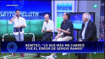 'El Madrid apoya que Rafa Benítez señale a sus jugadores si fallan'