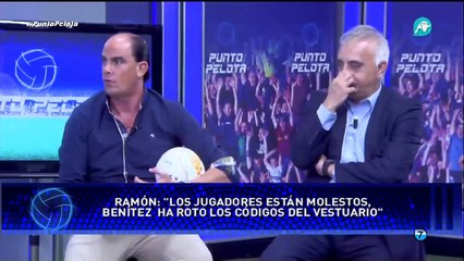 'Hoy habrá un cara a cara entre Ramos y Benítez'