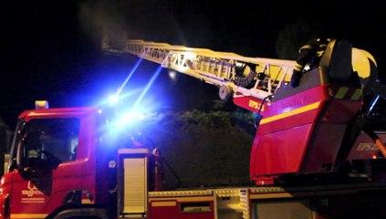 Incendie à Saint-Rémy-Chaussée
